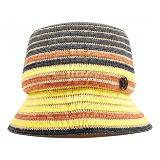 Maison Michel Yellow Other Hats