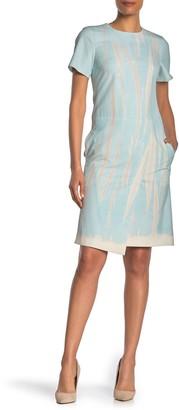 BOSS Dasira Short Sleeve Pocket Dress