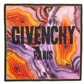 Givenchy Women's Flame Mineral Silk Square Scarf