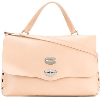Zanellato Medium Foldover Clasp Tote Bag