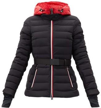 MONCLER GRENOBLE Bruche Belted Quilted-shell Jacket - Black