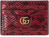 Gucci Ophidia snakeskin card case
