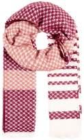Even&Odd Scarf pink