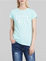 Calvin Klein Neon Iconic Logo T-Shirt