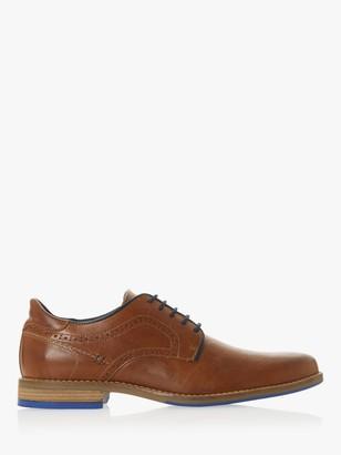Dune Brampton Leather Derby Shoes, Tan