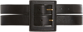 Oscar de la Renta Wide Leather Waist Belt