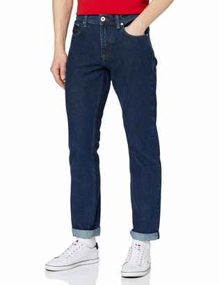 Tommy Hilfiger Men's Regular Mercer Rgd Pharr Blue Loose Fit Jeans