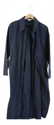 Cos Blue Synthetic Trench coats
