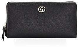 Gucci Women's Leather Zip Around Wallet