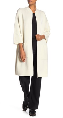 Eileen Fisher Long Length Knit Jacket