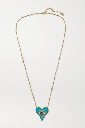 Jacquie Aiche 14-karat Gold Multi-stone Necklace - one size