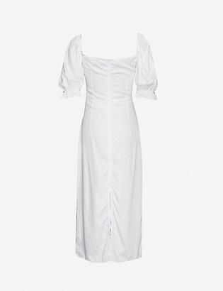 Olivia Rose The Label Greta short-sleeve silk dress