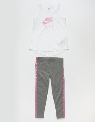 Nike Little Girls Tank & Leggings Set (4-6x)