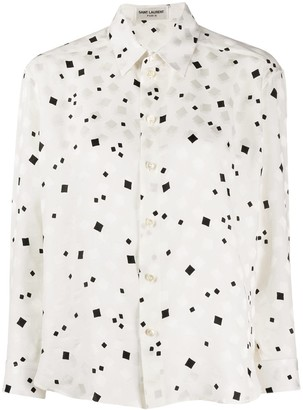Saint Laurent Abstract Print Shirt