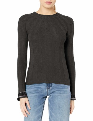 Emporio Armani Women's Wool Cashmere Blend Sweater