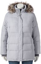 Free Country Plus Size Power Down Hooded Puffer Jacket