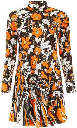 Prada Floral Printed Dress