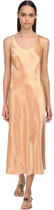 Max Mara Satin Midi Dress