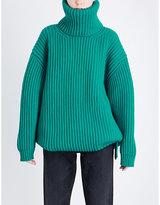 Balenciaga Turtleneck wool jumper