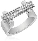 Vita Fede Sphere Bar Swarovski Crystal Ring