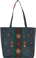 Accessorize Wallace Stripe Military Tote Bag
