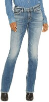 Thumbnail for your product : Silver Jeans Co. Women's Suki Curvy Fit Mid Rise Slim Bootcut Jeans