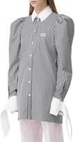 Burberry Striped Shirtdress
