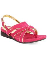 Lauren Ralph Lauren Lindsay Slingback Wedge Sandals