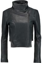 J Brand Connix Leather Biker Jacket