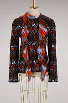 Peter Pilotto Wool fringed jacket
