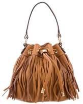 Milly Fringe Bucket Bag