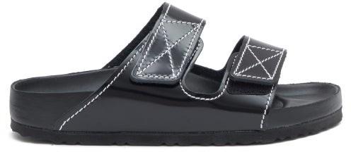 Birkenstock x Proenza Schouler Arizona Leather Slides - Black