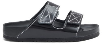 Birkenstock x Proenza Schouler Arizona Leather Slides - Black
