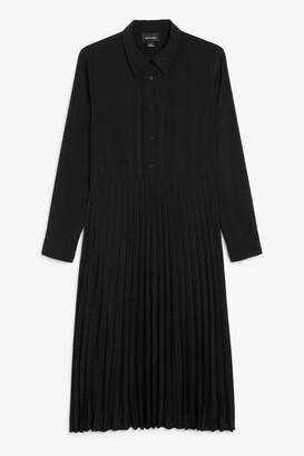 Monki Pleated dress
