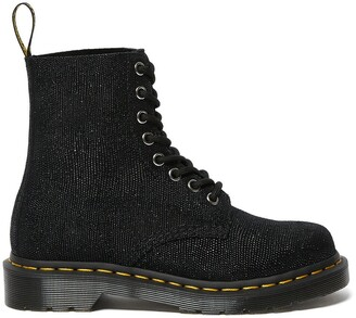 Dr. Martens 1460 Pascal Ankle Boots in Sparkle Leather