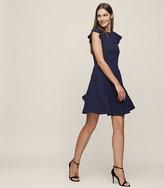 Reiss Melanie Cap-Sleeve Shift Dress