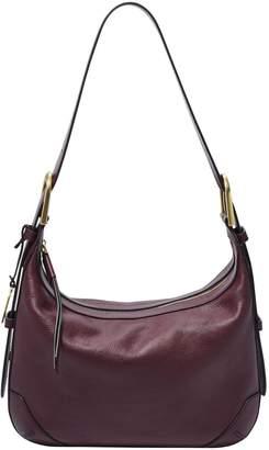 Fossil Hannah Leather Hobo Bag