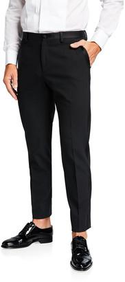 Dolce & Gabbana Men's Classic Satin-Waist Tuxedo Pants