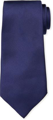 Ermenegildo Zegna Solid Silk Twill Tie