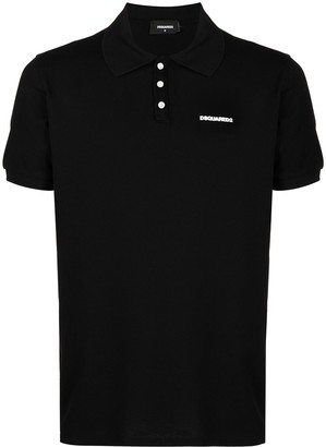 DSQUARED2 Logo-Embroidered Polo Short