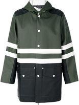 Marni x Stutterheim raincoat - men - Cotton/Polyester/PVC - M