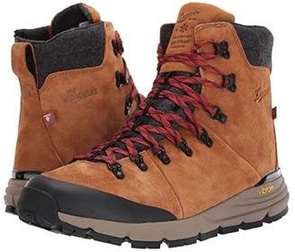 Danner 7 Arctic 600 Side-Zip 200G (Brown/Red) Men's Shoes