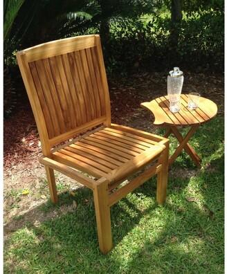 Chic Teak Belize Teak Wood Indoor/ Outdoor Dining Side Chair