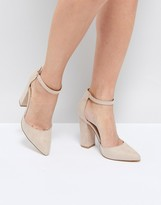 Truffle Collection Pointed Block Heels