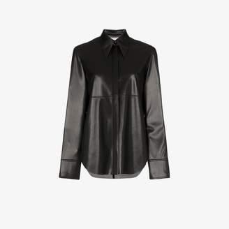 Nanushka Noelle Vegan Leather Shirt