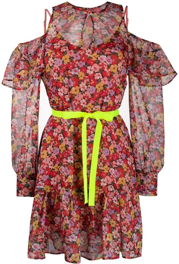 Twin-Set Twin Set floral print mini dress