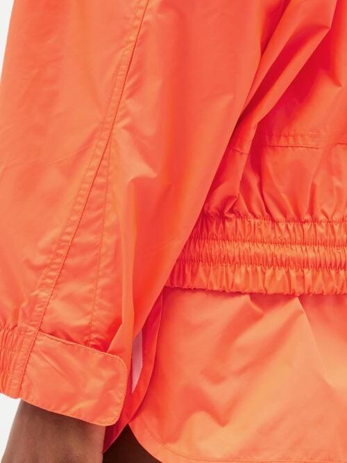 Thumbnail for your product : Stella McCartney X Adidas Jayla Side-stripe Shell Track Top - Orange