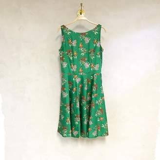 Green Cotton Cissiochselma CissiochSelma Flowers Saga Dress - XL - Green