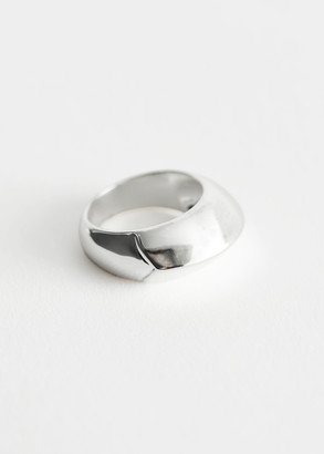 And other stories Chunky Geometric Ring