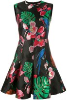 Valentino Tropical Dream jacquard dress - women - Silk/Cotton/Polyester/Metallic Fibre - 38